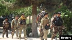 Afganistanske snage sigurnosti u Kunduzu gdje se sukobljavaju s talibanskim militantima