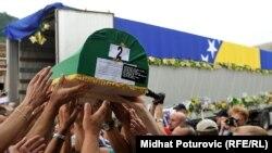 Potočari: Ukop 136 žrtava na 20 godišnjicu genocida