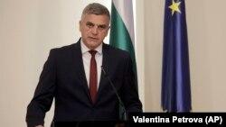 Bulgarian Prime Minister Stefan Yanev