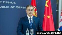 Nebojša Stefanović, ministar unutrašnjih poslova Hrvatske