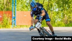Велосипед – любимое средство передвижения Романа Романова