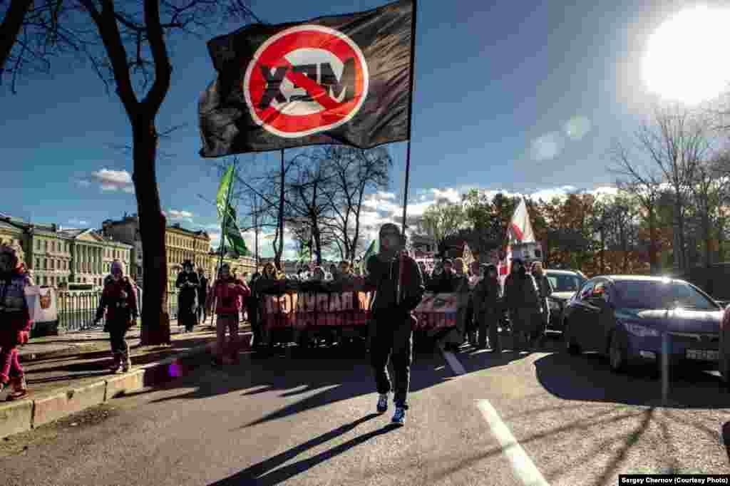 تظاهرات برای توقف کشتار حیوانات فقط به دلیل استفاده از پشم یا پوست آن ها