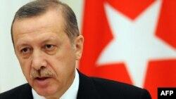 Премьер-министр Турции Реджеп Эрдоган в Москве, 18 июля 2012 года.
