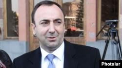 Министр юстиции Армении Грайр Товмасян