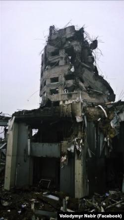 Вежа Донецького аеропорту, 19 січня 2015 року