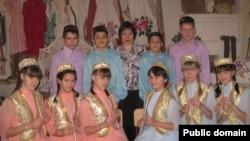 Азнакай районы Югары Стәрле мәктәбе курайчылары