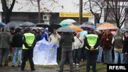 На студентите им се придружија и граѓаните