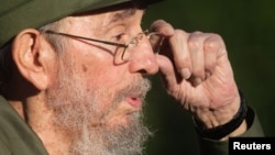Бывший глава Кубы Фидель Кастро