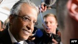 FIFA президенттігіне бұрынғы үміткер Шейх Салман Ибрагим бин әл Халифа.