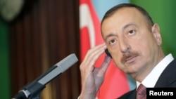 Президент Азербайджана Ильхам Алиев, Рига, 17 января 2011