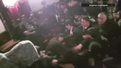Tajik Talent Show Ends In Mass Brawl