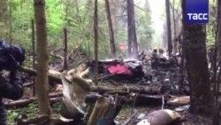 Российский истребитель Су-27 разбился в Подмосковье