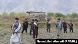 FILE: Pro-government militiamen in Badakhshan, Afghanistan.