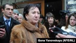 Экс-кандидат в президенты Южной Осетии Алла Джиоева