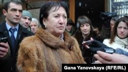 Алла Джиоева готова и дальше сражаться за президентский пост в республике