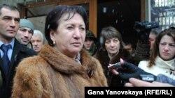 Бывший кандидат в президенты Южной Осетии Алла Джиоева