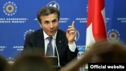 """Бидзина Иванишвили, лидер коалиции """"Грузинская мечта"""" - основного соперника правящей партии на парламентских выборах в Грузии."""