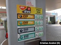 Prețuri carburanți, Mol, sectorul 4, București
