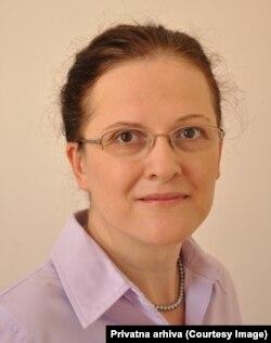 Svetlana Tomić, profesorka na Fakultetu za strane jezike Alfa BK univerziteta