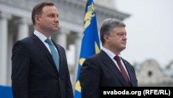 Петро Порошенко і Анджей Дуда (л) (архівне фото)