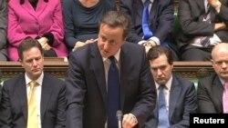 Kryeministri Kamerun gjatë fjalimit në parlamentin e Britanisë