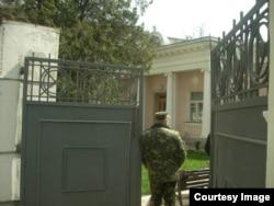 Українська військова частина в Криму