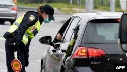 Kontrole na ulazu u Zagreb