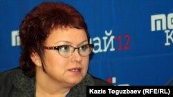 Светлана Романовская, депутат мажилиса парламента Казахстана.