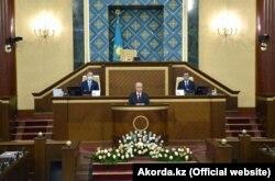 Қазақстан президенті Қасым-Жомарт Тоқаев халыққа жолдауын жариялаған. 1 қыркүйек 2020 жыл.