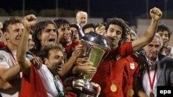 یکی از اعضای ناپدید شده تیم ملی المپیک عراق عضو تیم قهرمان این کشور در مسابقات جام ملت های آسیا است.