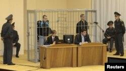 Обвиняемые по делу о теракте в минском метро 11 апреля на заседании суда