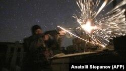Ukrain harbysy orsýetçi separatistlere garşy söweşde, Awdiiwka, Donetsk regiony