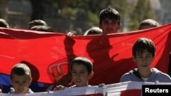 Косовские сербы протестуют против планов НАТО. 2011 год
