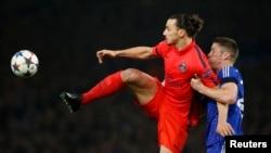 Zlatan Ibrahimovic în acțiune