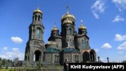 Noua Catedrală a Forțelor Armate, inaugurată cu ocazia împlinirii a 75 de ani de la încheierea celui de al Doilea Război Mondial, 23 iunie 2020.