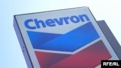 Логотип нефтяной компании Chevron.