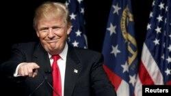 Республикашыл партиядан АҚШ президенттігі сайлауына түсуден үміткер Дональд Трамп.