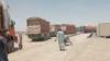 پر چمن-بولدک لار له پاکستانه افغانستان په مالونو بار لارۍ اوړي. ۲۰۲۱، ۲۵م جولای