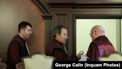 Valer Dorneanu, Cristian Deliorga și Gheorghe Stan - judecători ai Curții Constituționale