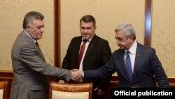 Встреча представителей партии «Наследие» с президентом Сержем Саргсяном, 12 марта 2015 г.