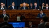 Адам Шифф, глава комитета Палаты представителей по делам разведки, открывает слушания в рамках импичмента президента Трампа