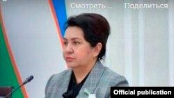 Oliy Majlis Senati raisi Tanzila Norboyeva.