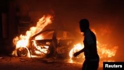 انفجار سيارة مفخخة في بغداد