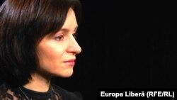 Maia Sandu în studioul Europei Libere, 13.03.2016