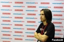Даниил Сметанский в штабе Навального