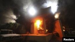 کنسولگری آمریکا در بنغازی سپتامبر ۲۰۱۲