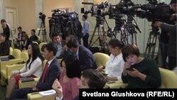 Журналисты в Казахстане. Иллюстративное фото.