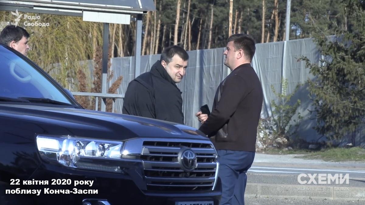 Журналисты «Схем» зафиксировали встреча начальника военной разведки Бурбы с уволенным прокурором Куликом