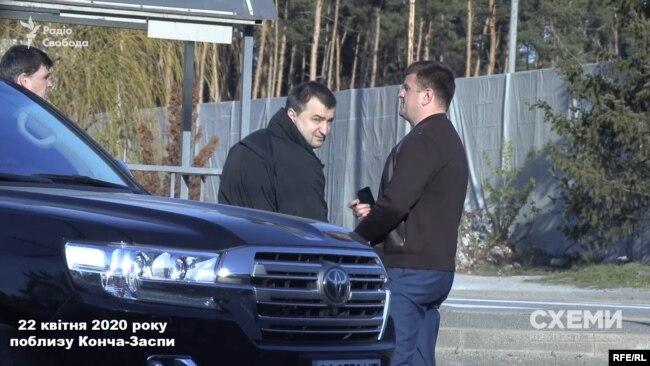 В одному з учасників зустрічі журналісти впізнали колишнього прокурора Костянтина Кулика