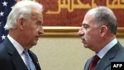 رئيس مجلس النواب العراقي أسامة النجيفي يستقبل في بغداد نائب الرئيس الأميركي جوزيف بايدن